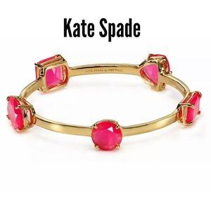 NWT Kate Spade Cabaret Pink Vegas Jewel Bracelet